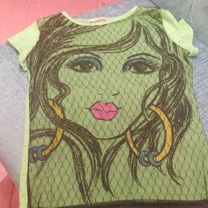 Girls 6X tee shirt